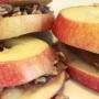 Dr. Smarty - Healthy Kids Recipe - Snacks - Crispy, Crunchy Apple Sandwiches
